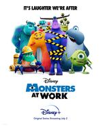 Monsters at Work Alternate Final Poster