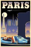 Cars 2 Vintage poster 3