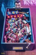 Toy Story 4 Bin Poster