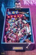 Toy Story 4 Bin Poster