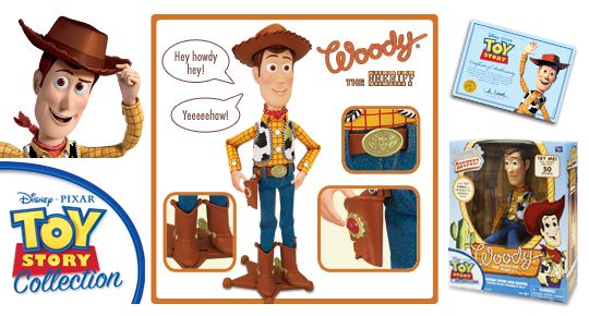 Woody the Sheriff (Toy Story Collection)