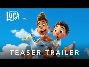 Disney and Pixar's Luca - Teaser Trailer