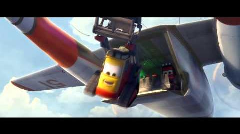 BEAR GRYLLS in Disney's PLANES 2 FIRE & RESCUE