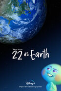 22 vs Earth Poster