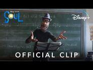 Joe Teaches Class - Disney and Pixar's Soul - Disney+