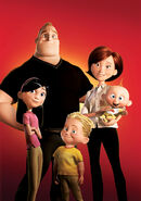 The Incredibles - Family Poster-1-