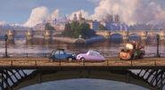 Mater bridge romance Cars 2