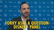 Forky Asks a Question Disney+ Panel D23 Expo 2019
