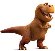 T-Rex's The Good Dinosaur 01
