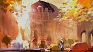 Ratatouille Building Paris Concept art .472