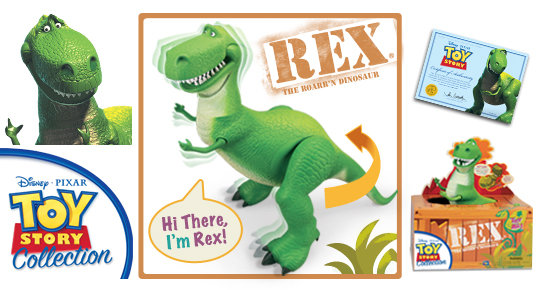 Rex the Roarr'n Dinosaur (Toy Story Collection)