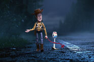 Woody bonds with Forky