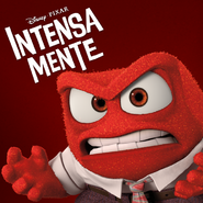 Furia - Intensa-Mente - Poster para America Hispana