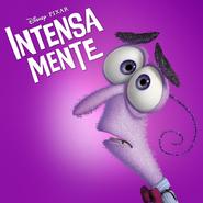 Temor - Intensa-Mente - Poster para America Hispana