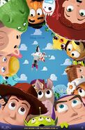 Toy Story 4 Stunt Poster