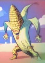 Corn Cob Man