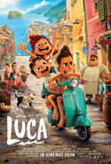Luca UK Poster
