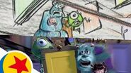The Door Chase from Monsters, Inc