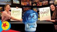 Sadness at the Beach Pixar Doodle Duels