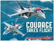 Courage Takes Flight
