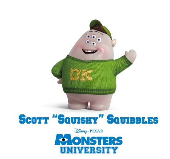 Scott Squishy Squibbles Pixar Wiki Fandom