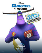 Monsters at Work Character Posters 01