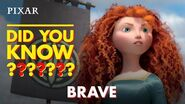 Brave Fun Facts Pixar Did You Know