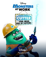 Monsters at Work Character Posters 04