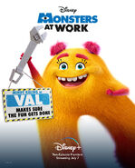 Monsters at Work Character Posters 02