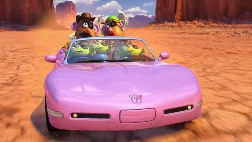 Barbie's Corvette