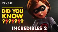 Incredibles 2 Fun Facts Pixar Did You Know?