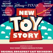 New Toy Story Original Broadway Cast Recording - New Design