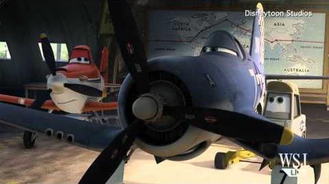 """""""Planes"""" Movie Clip Disneytoon's 3D Animated """"Planes"""" Exclusive """"Planes"""" Clips"""