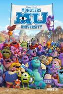 Monsters University - Poster de cine