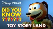 Toy Story Land Easter Eggs Pixar Did You Know