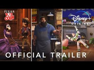 Pixar Popcorn - Official Trailer - Disney+