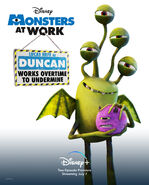 Monsters at Work Character Posters 03