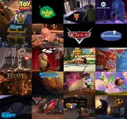 Pixar Compilation Luxo