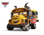 CARS 3 Miss Fritter