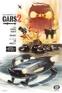 Cars 2 Vintage poster 1