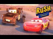 Disney pixar rush cars