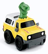 Rex Pizza Planet Truck Shake & Go