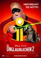 Incredibles 2 German Poster