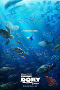 Poster finding dory pt