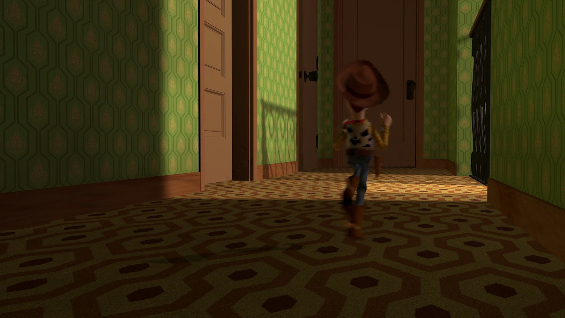 Stanley Kubrick References in Pixar Productions