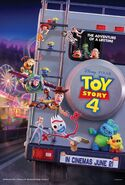 Toy Story 4 UK Poster