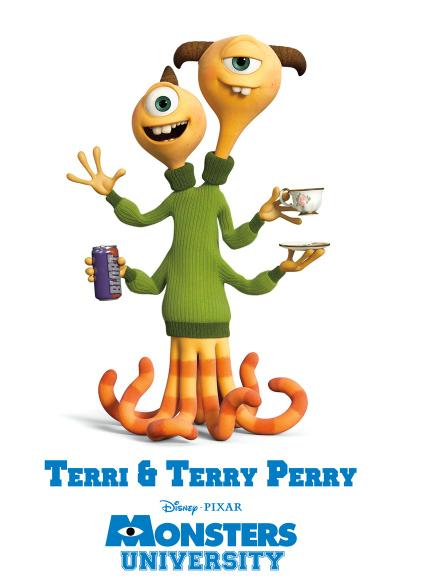 Terri And Terry Perry Pixar Wiki Fandom