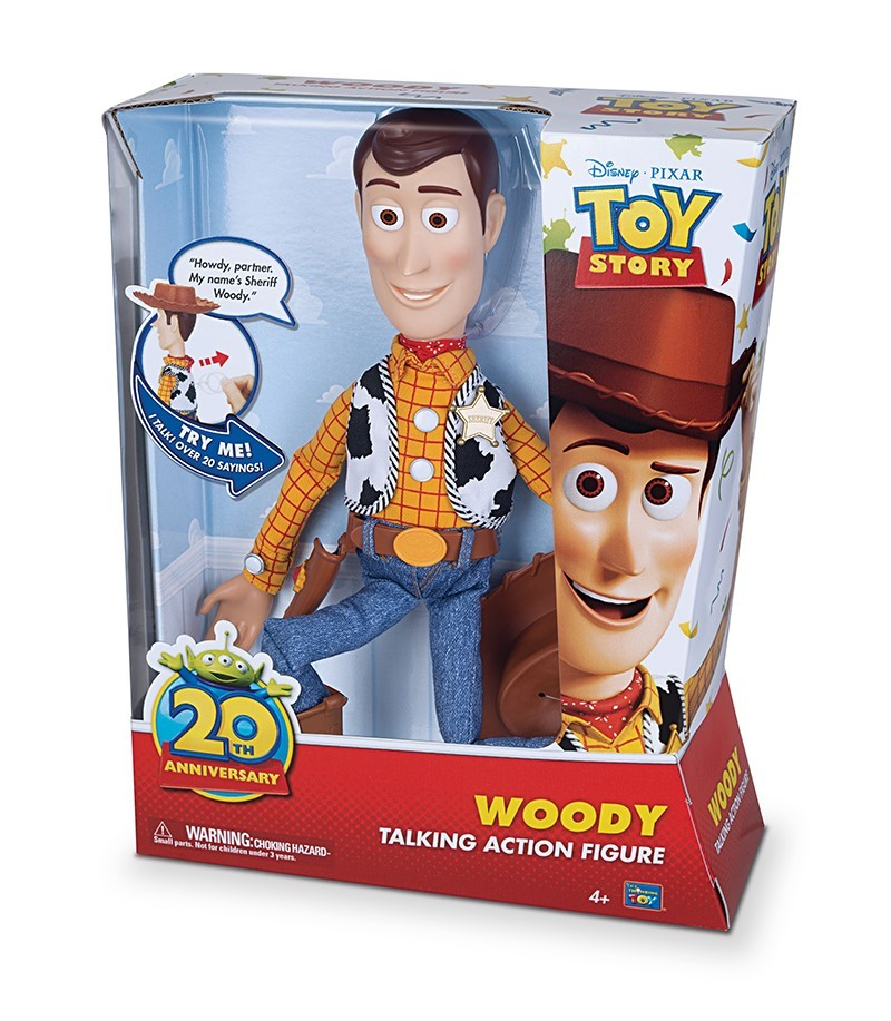 Woody (Toy Story 20th Anniversary Thinkway Toys Line)