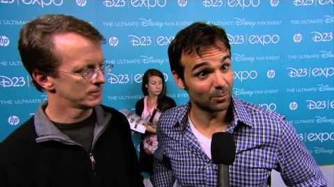 Planes Fire and Rescue Bobs Gannaway & Ferrell Barron D23 Interview