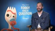 Forky Asks A Question Tony Hale Official Movie Interview